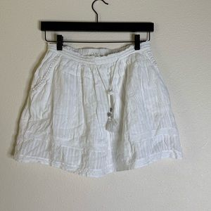 zadig and voltaire white Joxini Skirt